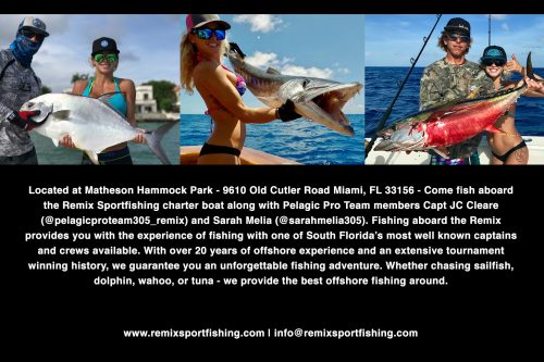 Remix Sportfishing | Miami Charter Fishing | Contact Us Today!